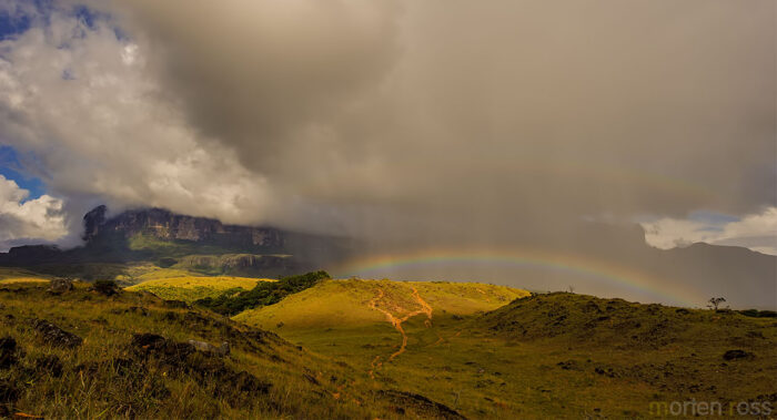 Double rainbow and Roraima