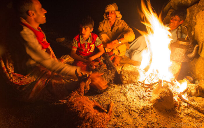 Campfire on top of Socotra