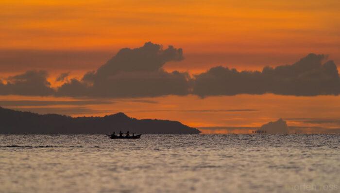 Sunset on a tiny Indonesian island II